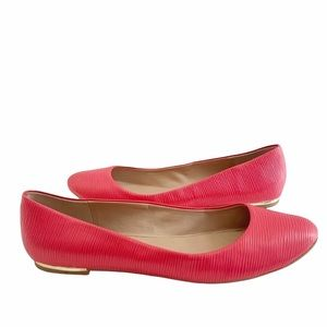 Call It Spring Pink Fibocchi Ballet Flat Shoes